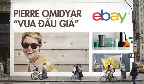 Ông chủ eBay và phép màu thành tỷ phú trong nháy mắt